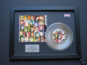 "MADNESS - Shut Up 7"" Platinum DISC with Cover"